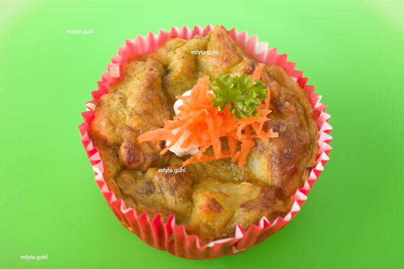 Herzhafte Muffins. Sellerie-Muffins. Edyta Guhl.