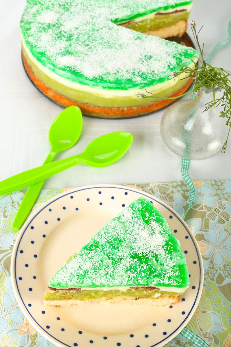 Grüne Torte. Edyta Guhl.