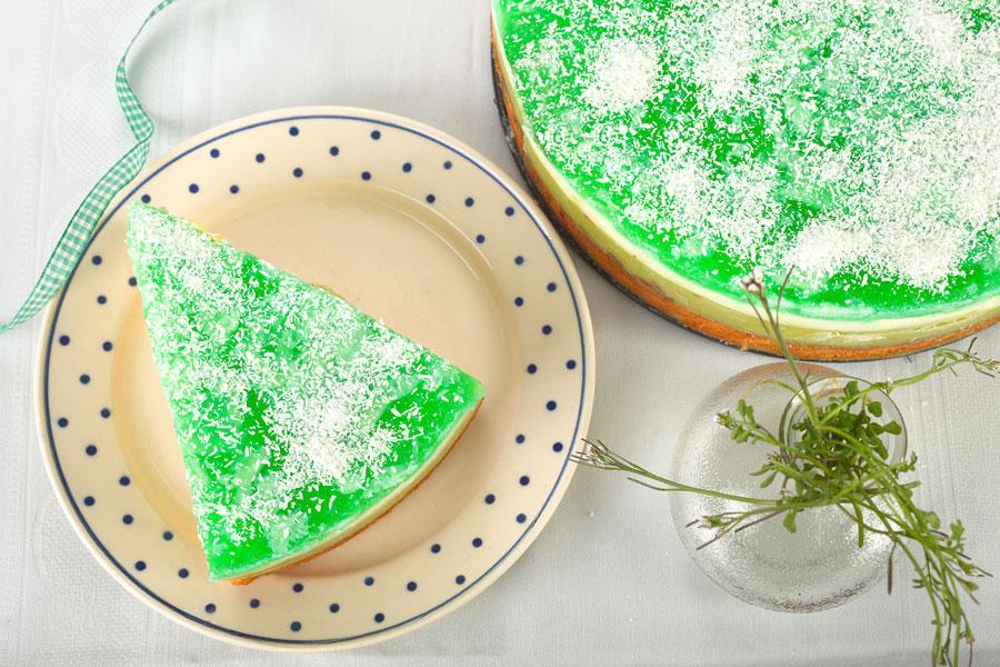 Rezepte für grüne Torte. Edyta Guhl.