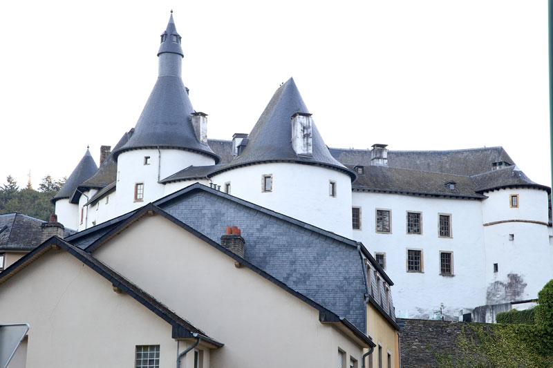 Das Schloss in Clerf. Edyta Guhl.