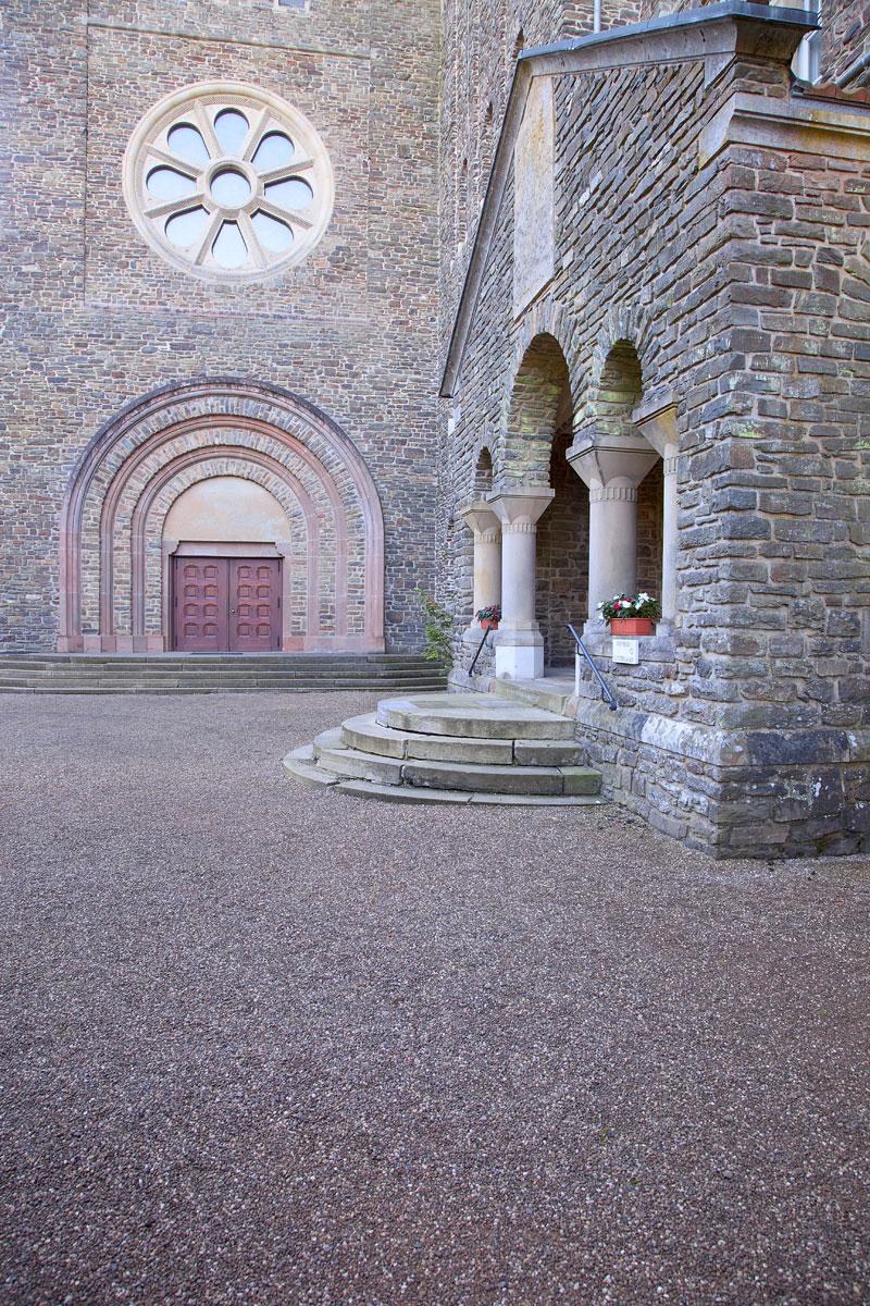 Benediktinerabtei Saint-Maurice in Clervaux. Edyta Guhl.