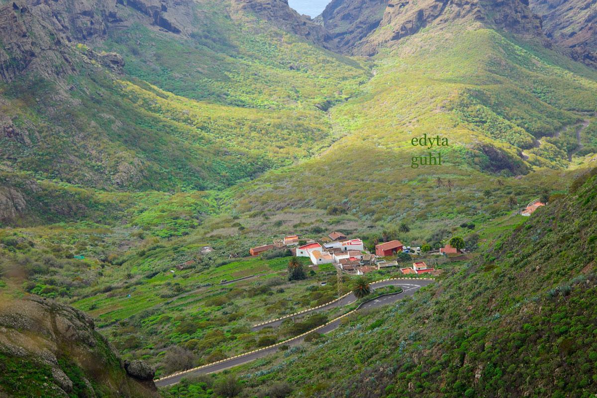 Wandern auf Teneriffa. Edyta Guhl. Urlaub auf Teneriffa. Spanien.