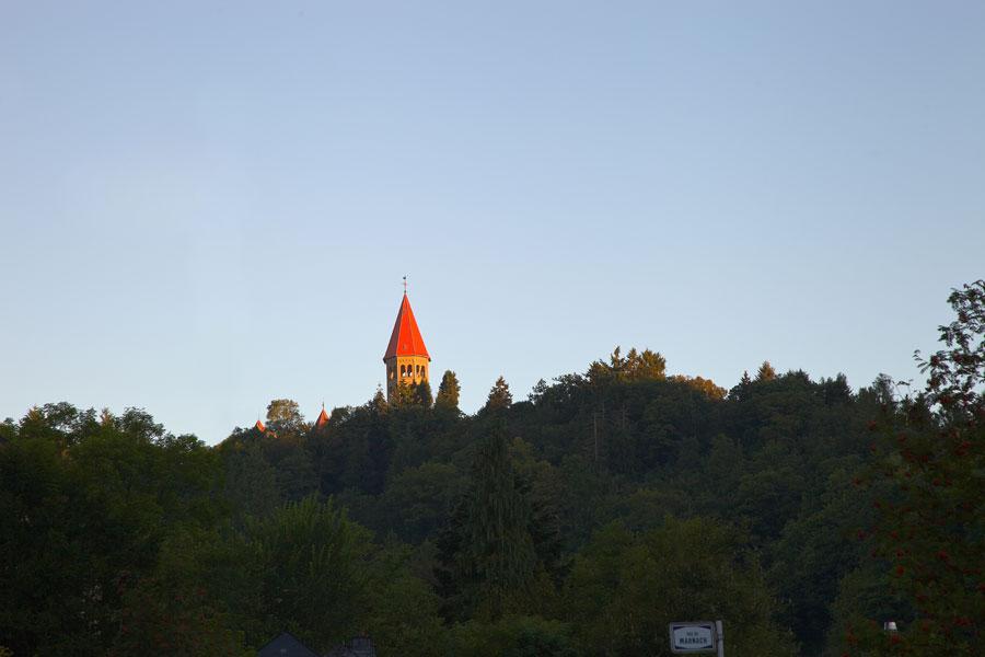 Benediktinerabtei in Clervaux. Luxemburg, Edyta Guhl.