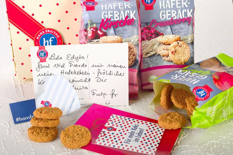 Persönliche Grüße von der Firmenchefin Anita Freitag- Meyer. Edyta Guhl.