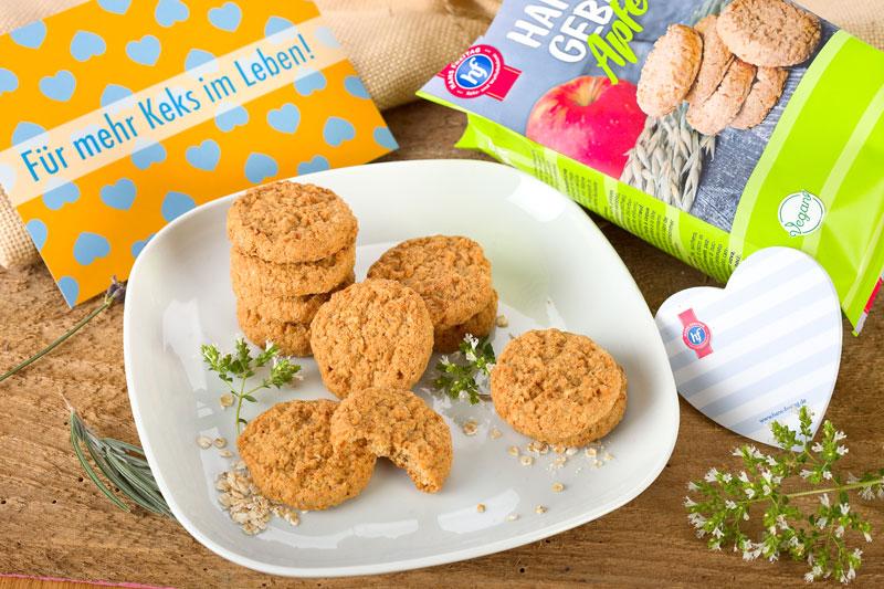 Vegane Kekse für zwischendurch . Edyta Guhl.