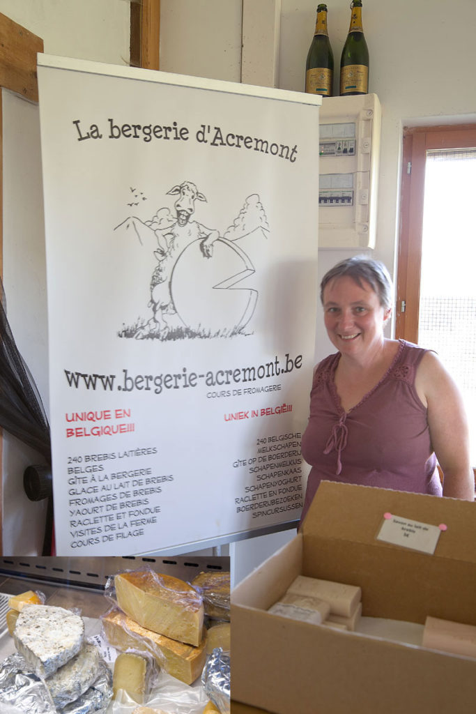Bergerie Acremont. Edyta Guhl. Besuch in Acremont.