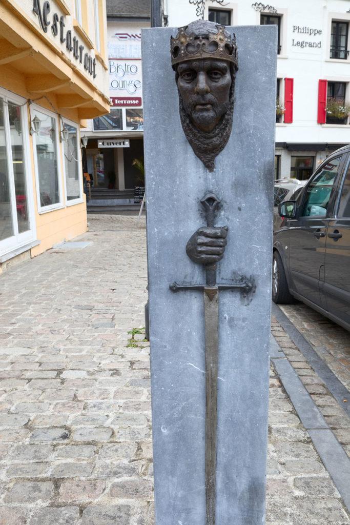 Gottfried von Bouillon. Belgien, meine Reisen. Edyta Guhl.