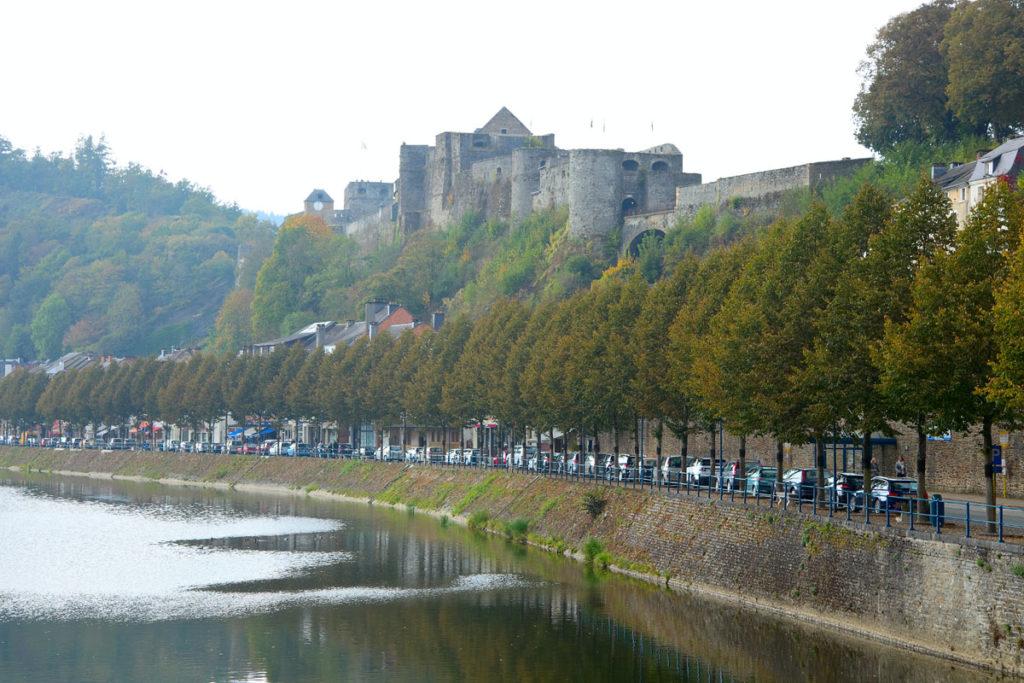 Bouillon in Belgien- die Burg.