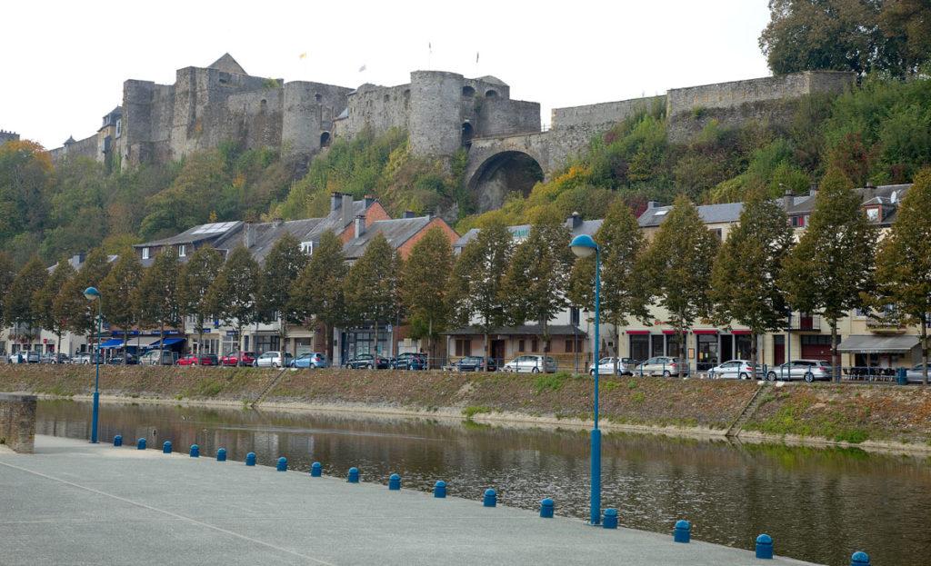 Bouillon in Belgien. Die Burg. Edyta Guhl.