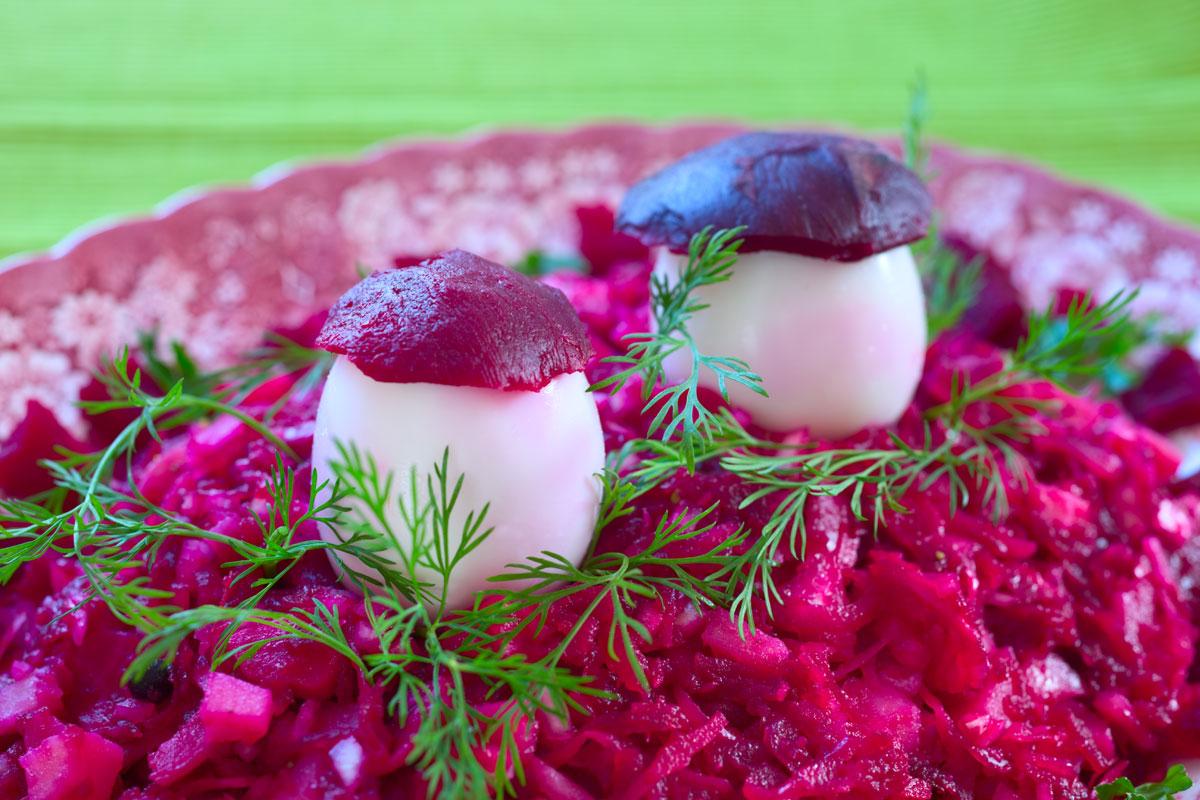 Rote- Bete Salat. Rote- Bete Rezepte.Anti-Grippe-Salat mit Roter Bete. Edyta Guhl.