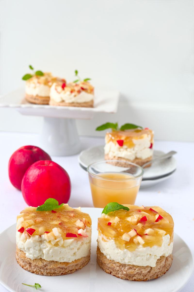 Apfel- Quark-Törtchen. Edyta Guhl. Mein-dolcevita.de