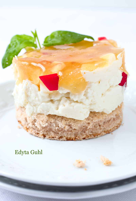 Apfel- Quark- Törtchen. Rezepte für Törtchen. Edyta Guhl.