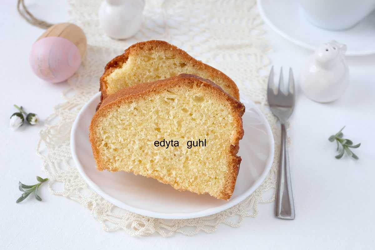 Kuchen-Stück. Osterkuchen. Oster- Rezepte. Edyta Guhl.