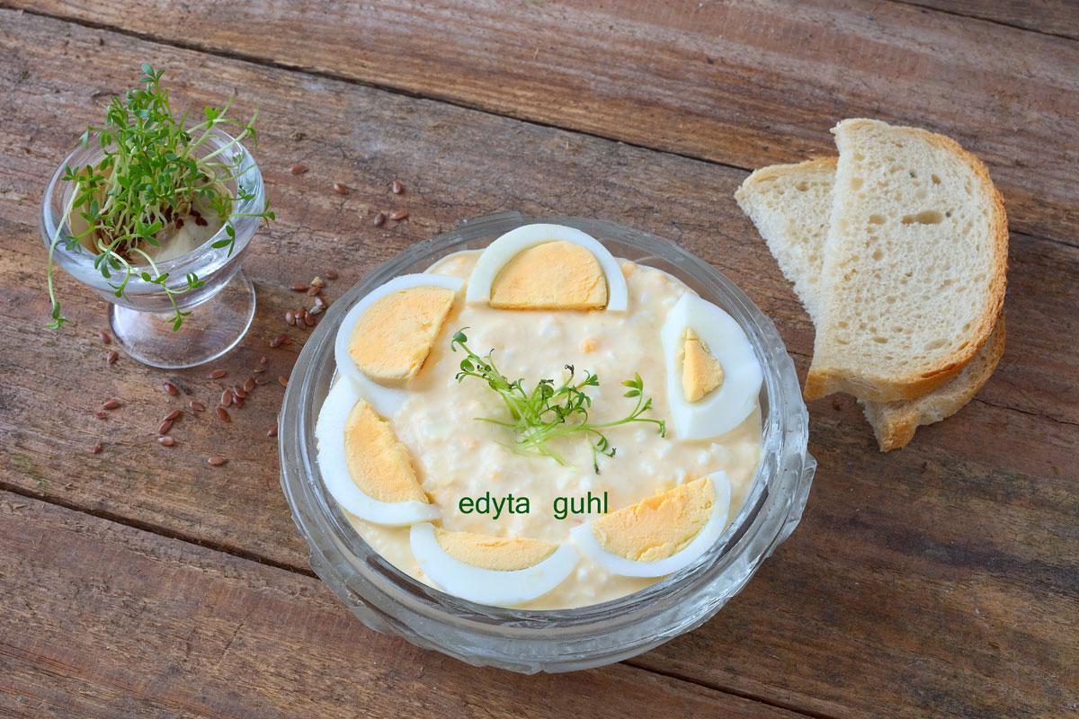 Rezepte für Eier- Aufstrich. Edyta Guhl.Brotaufstrich.