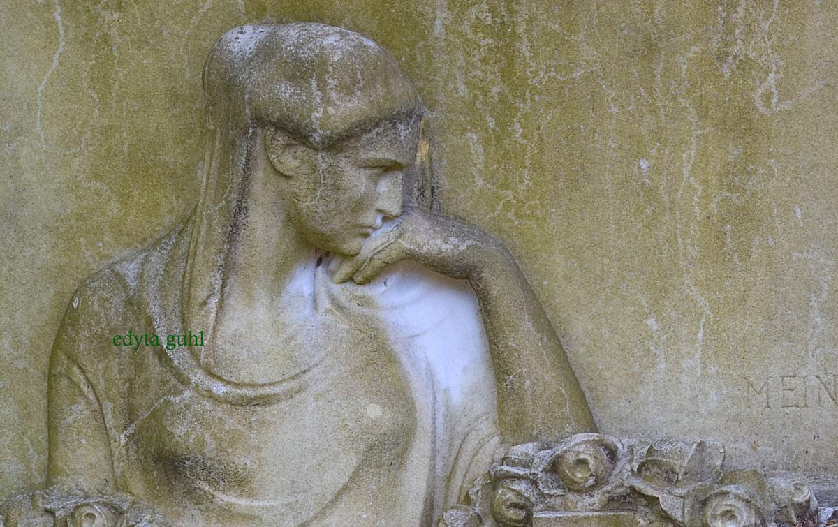 Friedhof auf Melaten. Edyta Guhl.