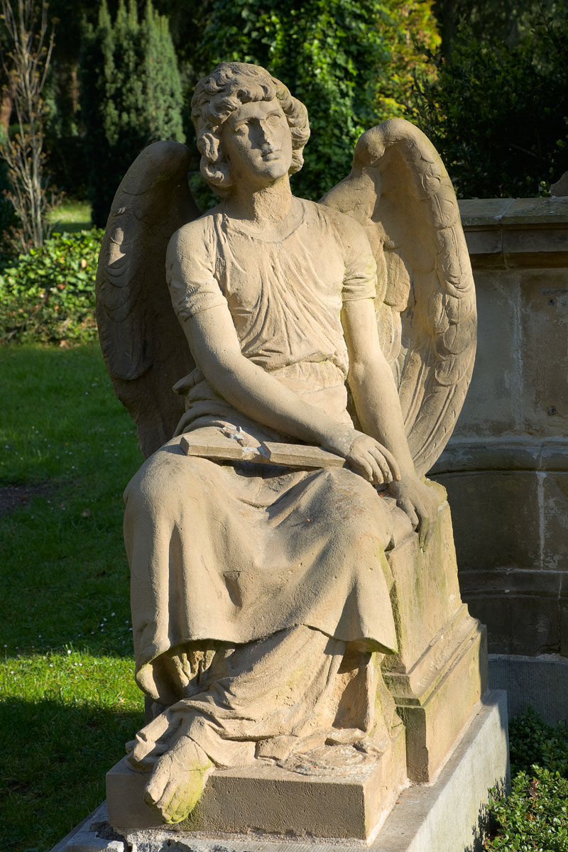 Friedhof Melaten in Köln. Edyta Guhl.