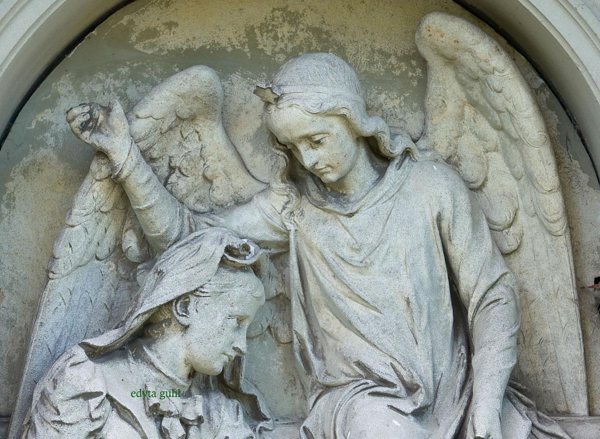 Engel von Melaten. Köln, Friedhof.