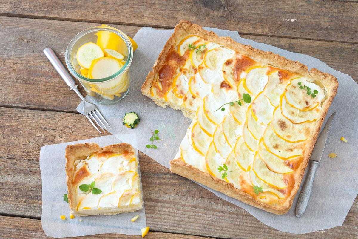 gelbe-zucchini-tarte-auf-muerbeteig