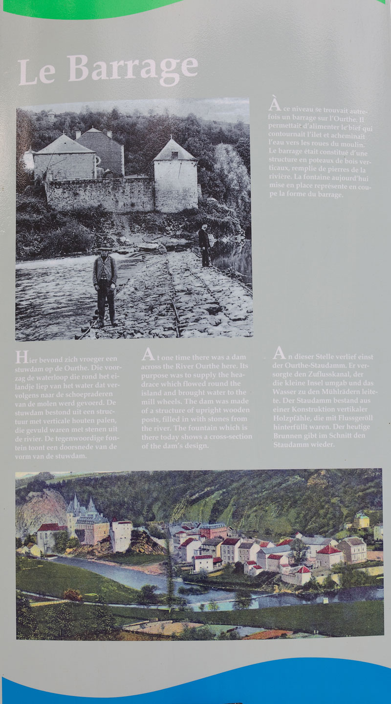 Le Barrage in Durbuy. Foto: Edyta Guhl.