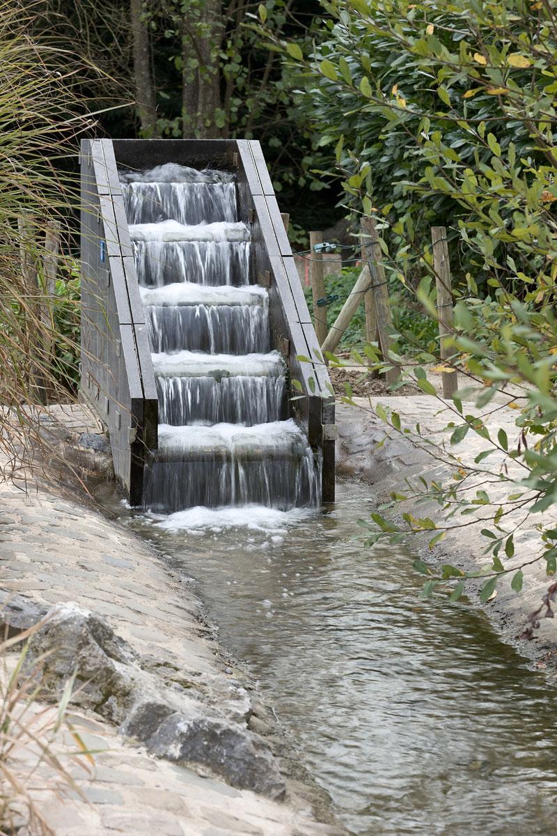 Wasserfall in Durbuy. Belgien. Edyta Guhl.