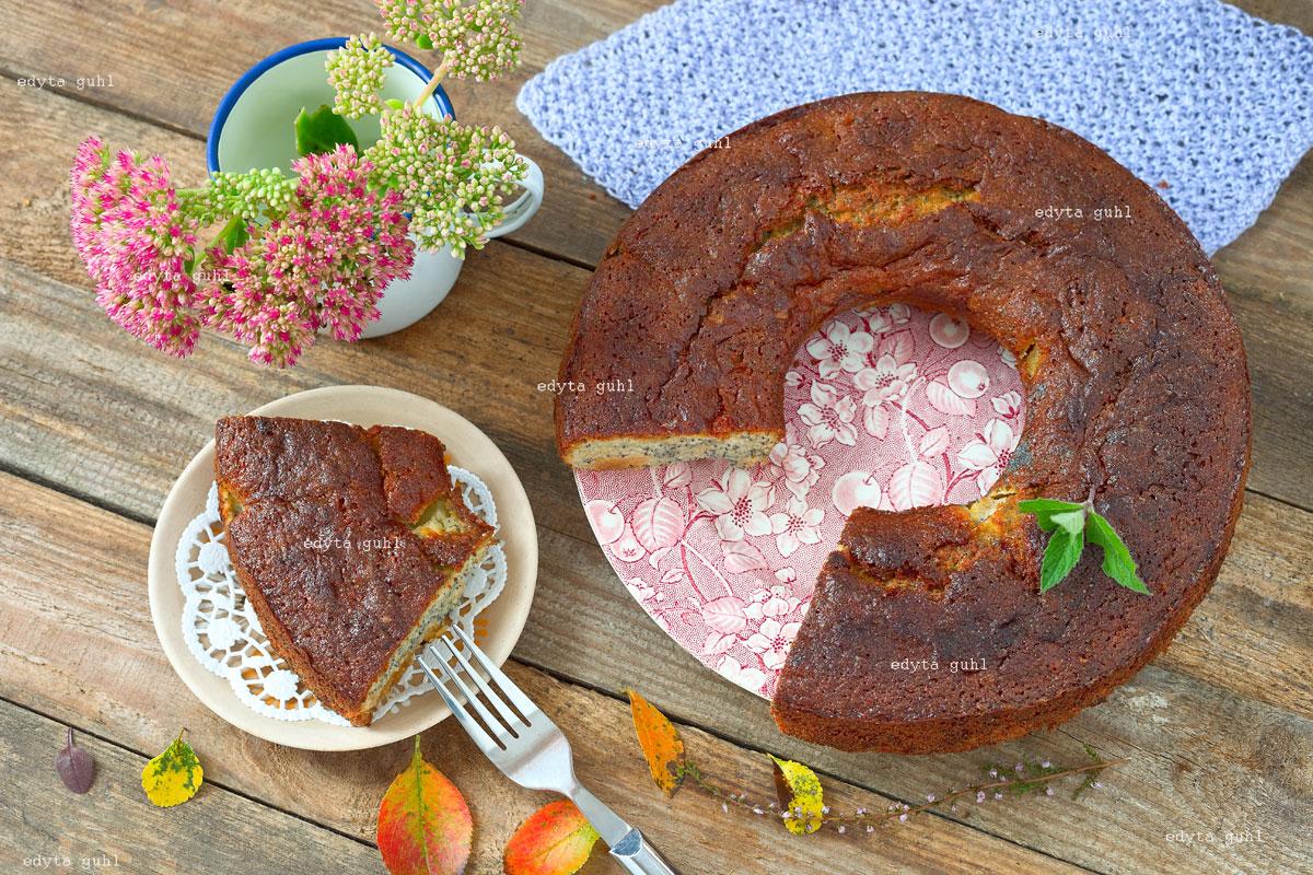 Mohn- Kuchen. Edyta Guhl.