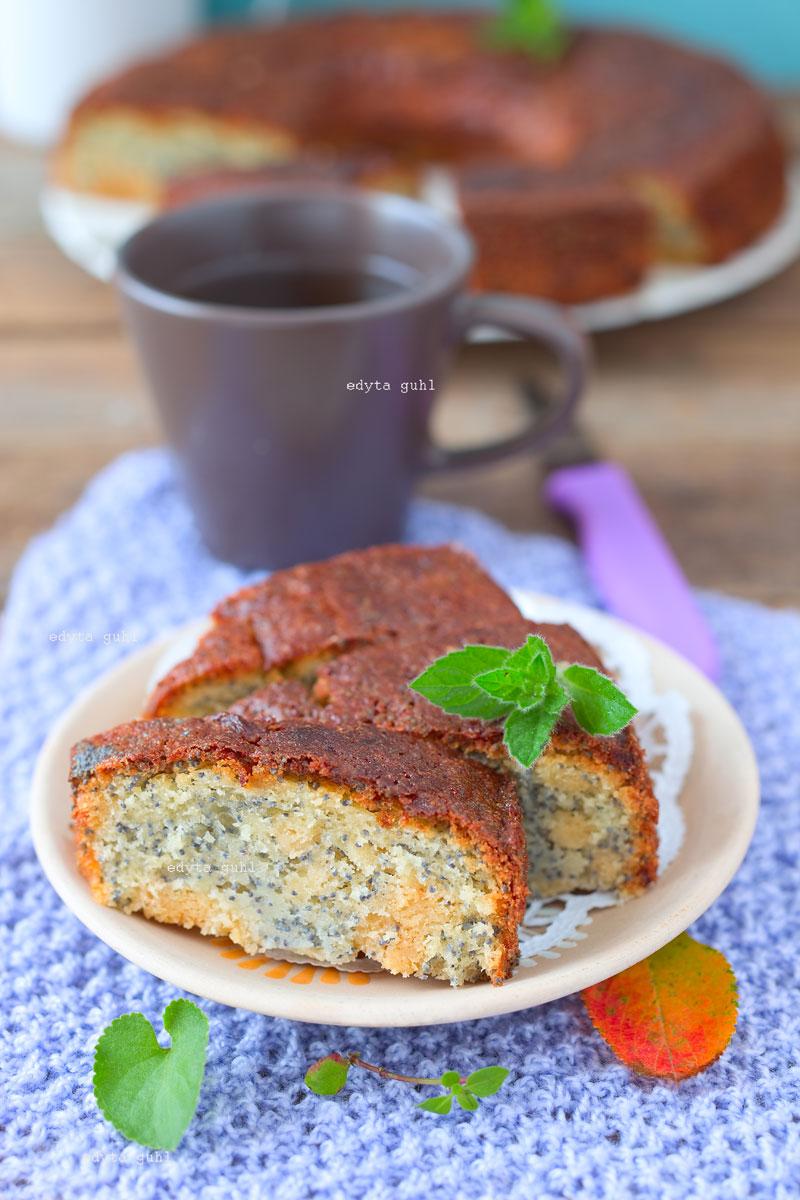 Marzipan- Mohn- Kuchen. Edyta Guhl.