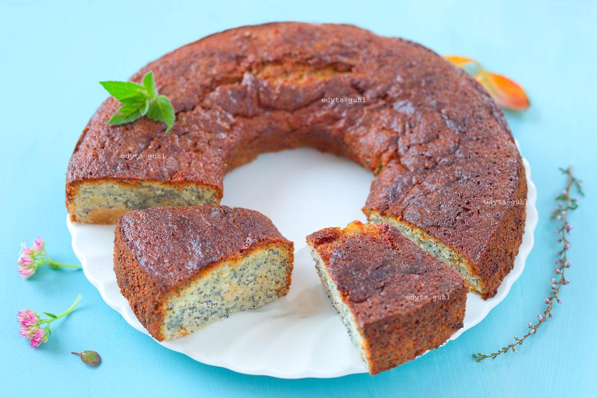 Rezepte für Mohnkuchen. Edyta Guhl.