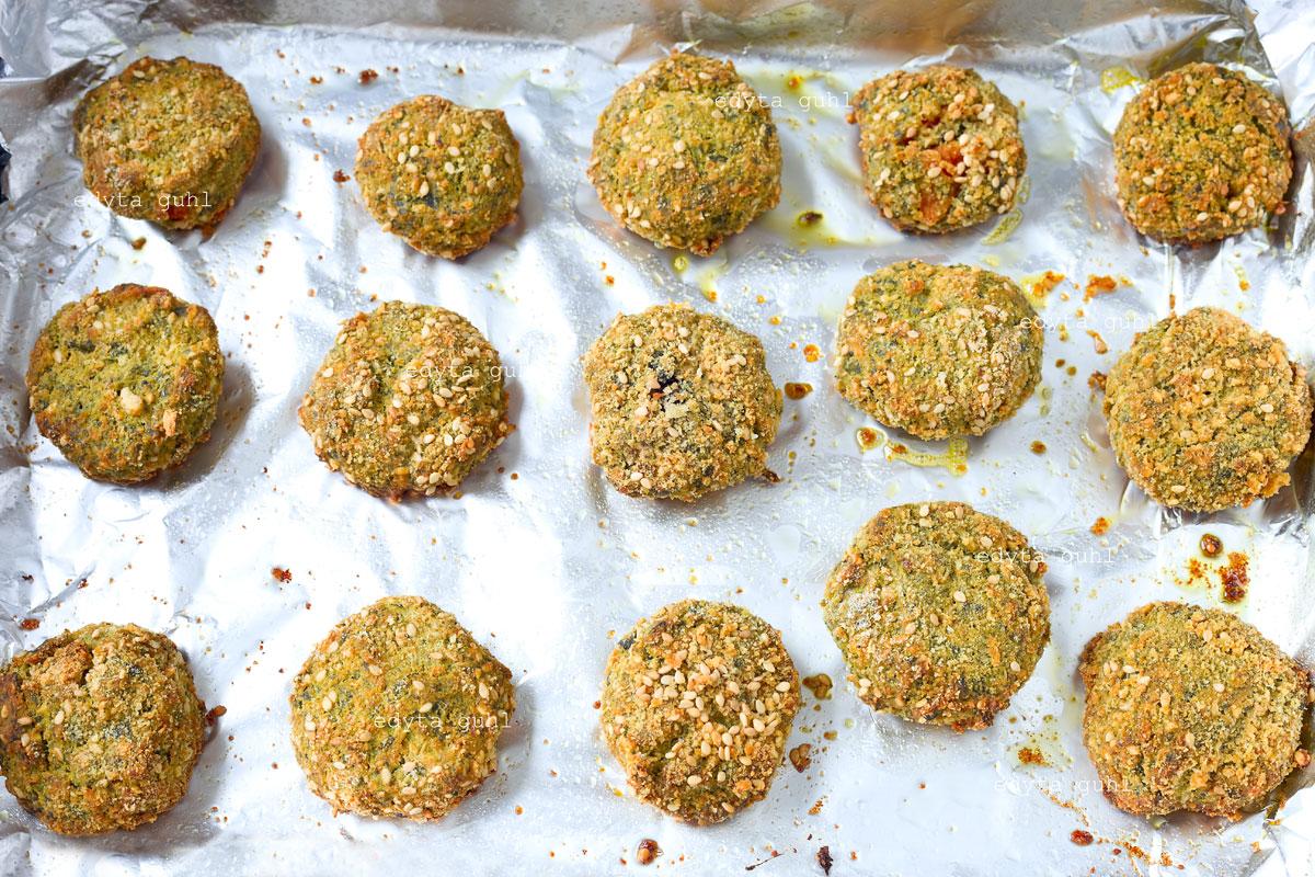 Sesam- Gemüsebällchen. Edyta Guhl. Rezepte mit Grünkohl.