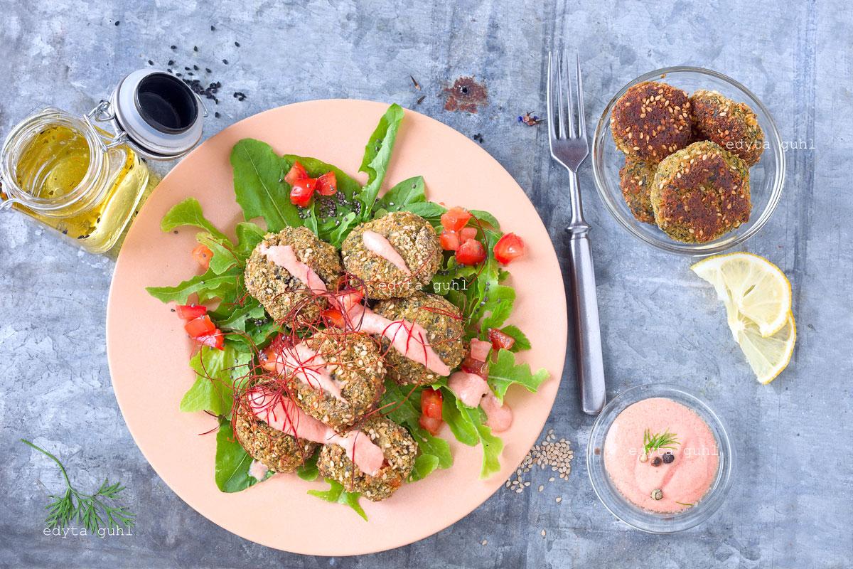 Fleischlose Gerichte. Gemüse-Bällchen. Edyta Guhl.
