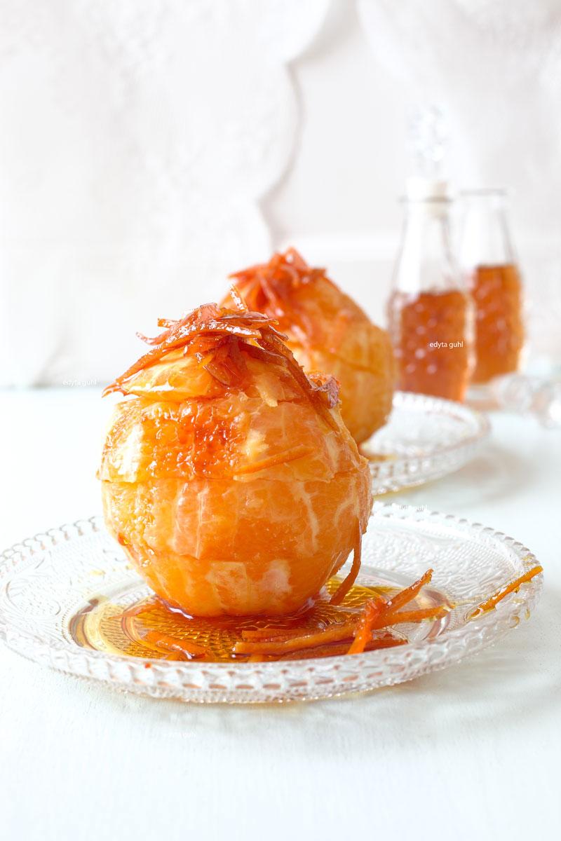 Orangen und Karamell. Karamell- Rezepte. Edyta Guhl.