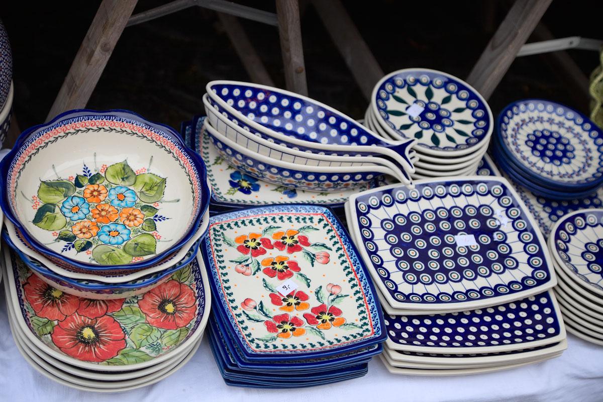 Bunzlauer Keramik. Edyta Guhl.