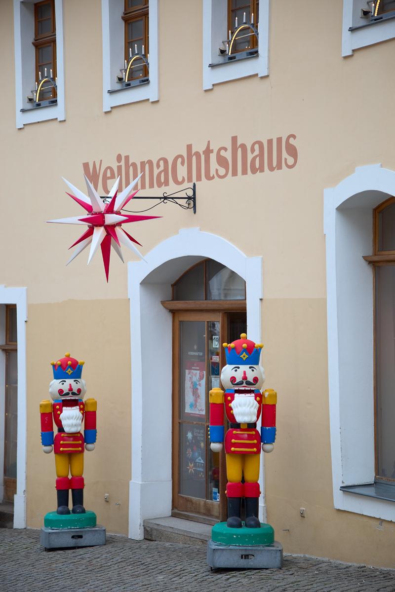 Weihnachtshaus in Görlitz. Edyta Guhl.