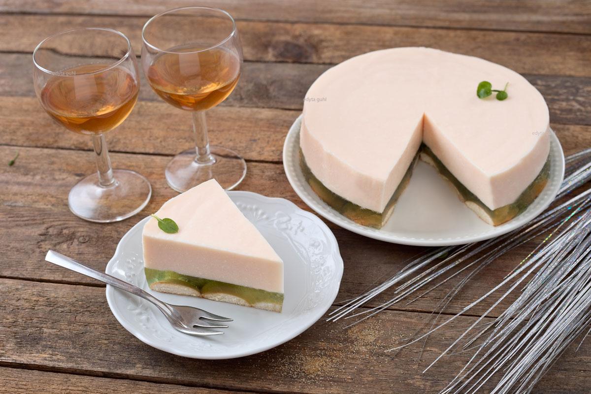 Einfacher Kuchen ohne Backen. Edyta Guhl.