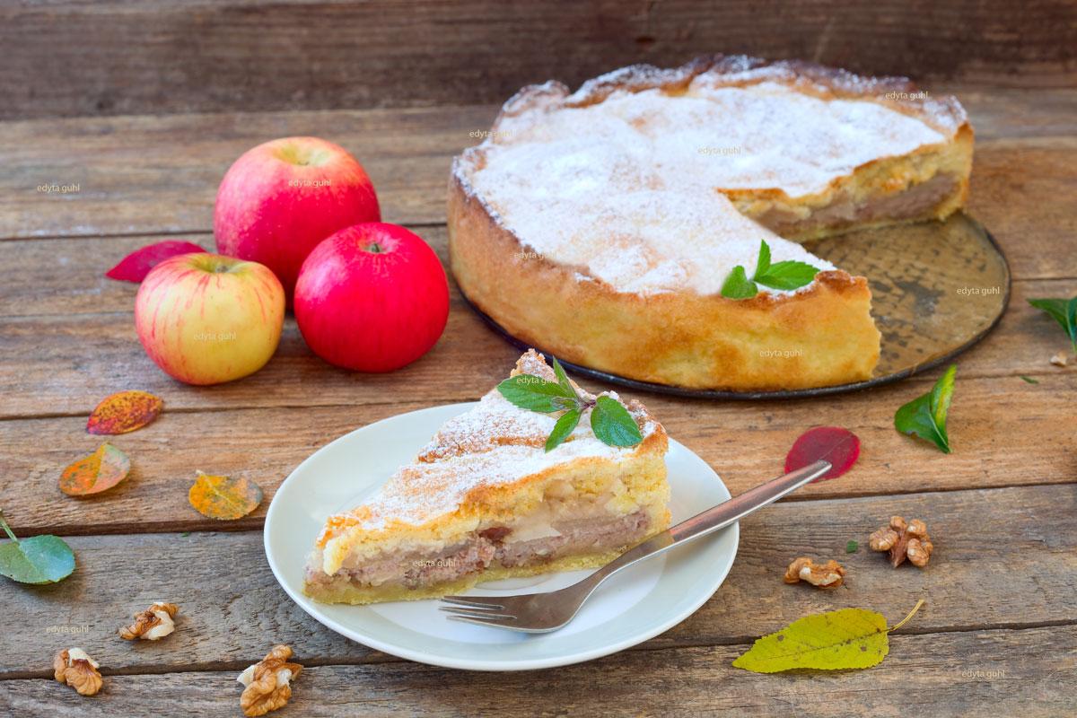 Apfel-Nuss-Torte-Edyta-Guhl
