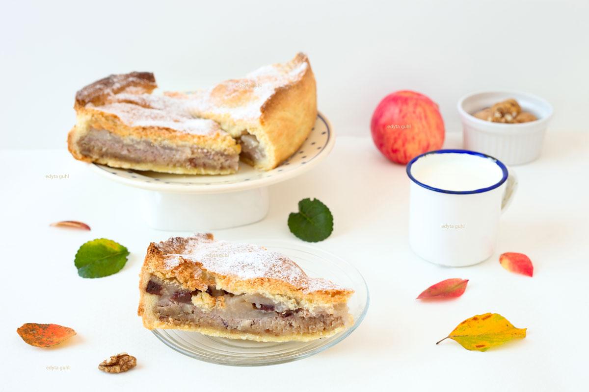 Rezept-für-Apfelkuchen-mit-Nüssen-Edyta-Guhl