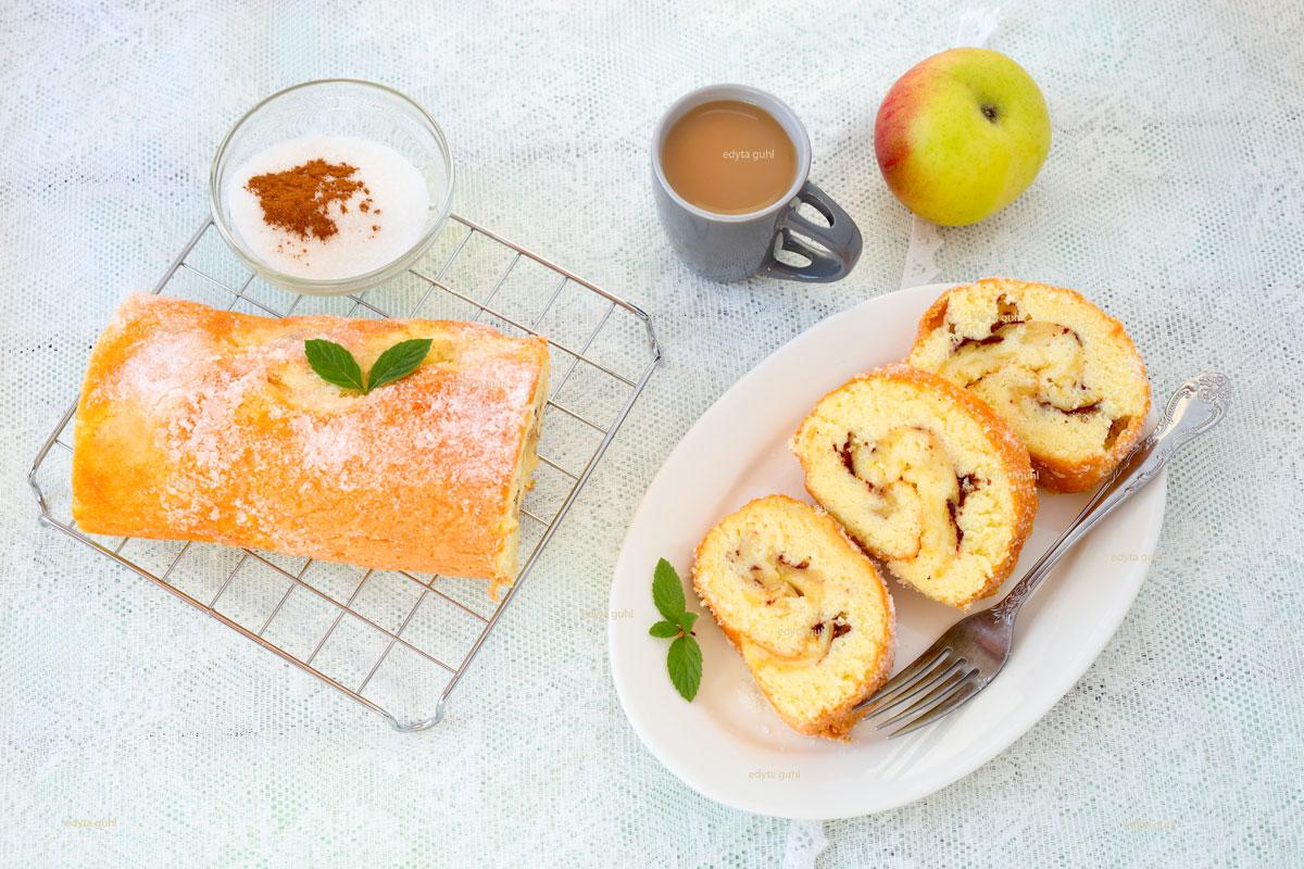 Apfelrolle-einfache-Rezepte-Edyta-Guhl