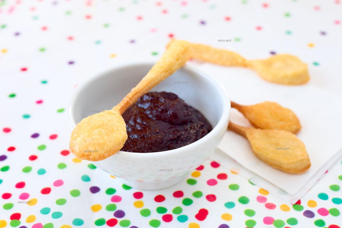 Löffel-Kekse-Backen