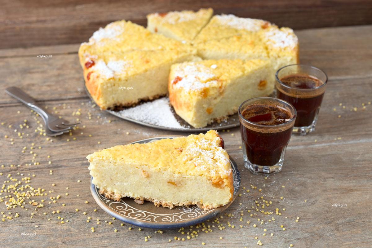 Hirse-Kuchen