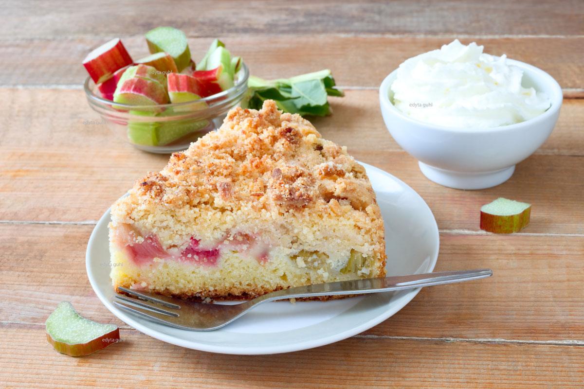 Streusel- Rhabarber- Kuchen