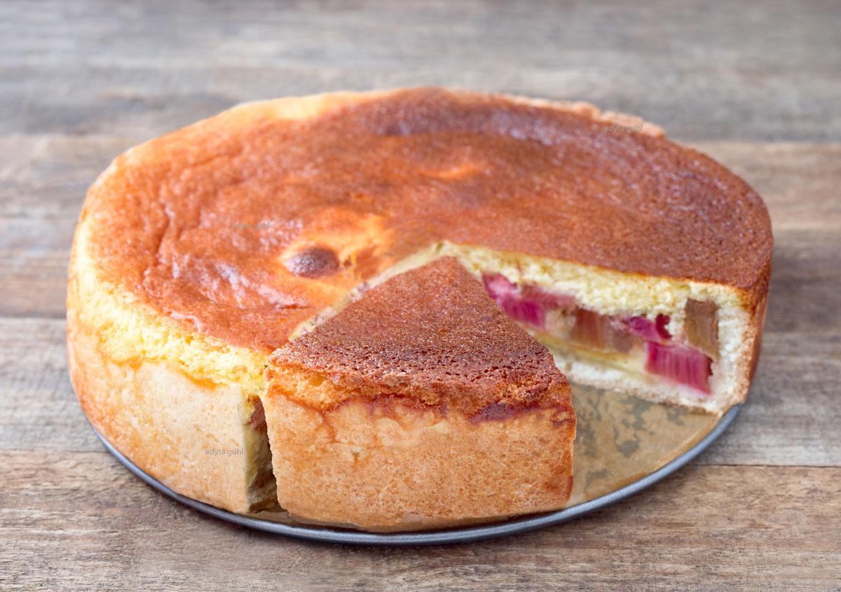 Rhabarber-Rahmkuchen