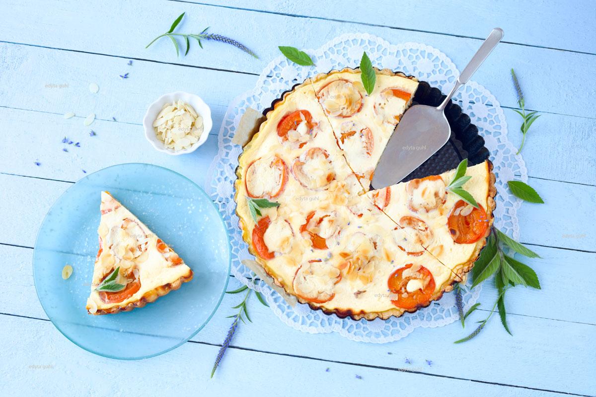 Sommerkuchen-Aprikosentarte