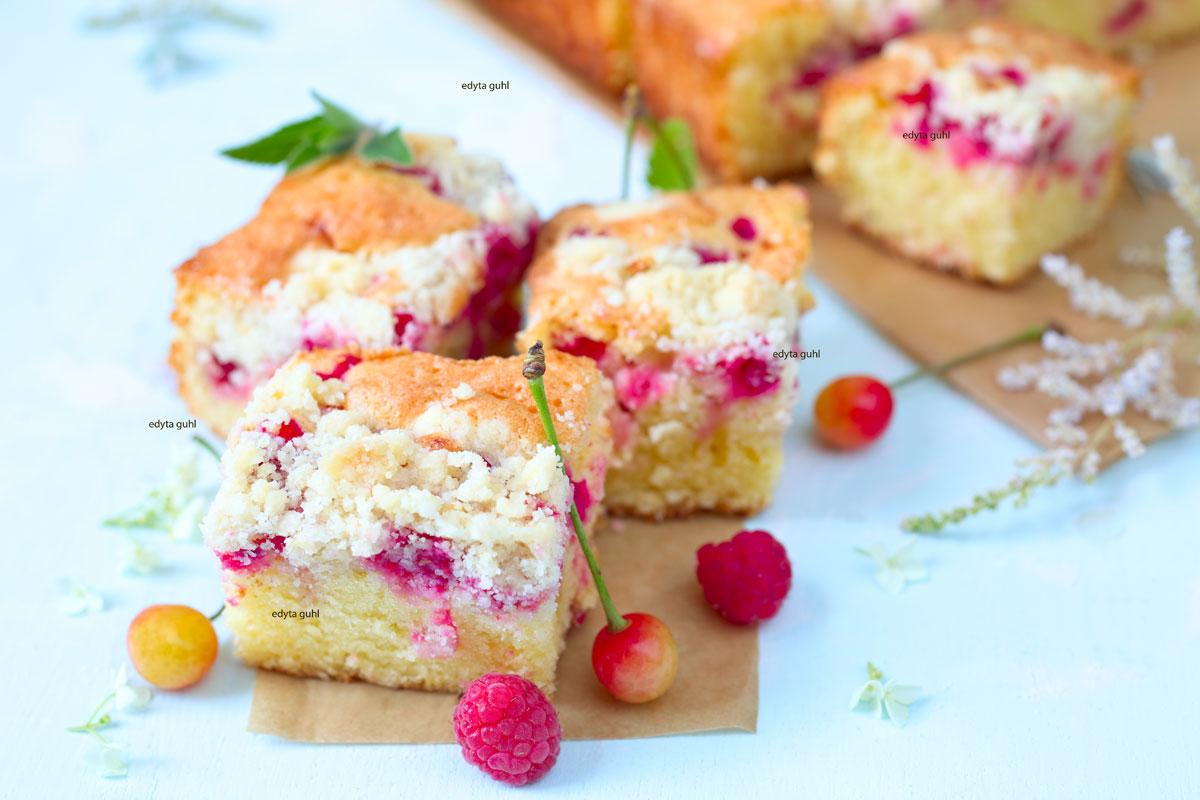 Beeren-Streusel-Kuchen-Rezept