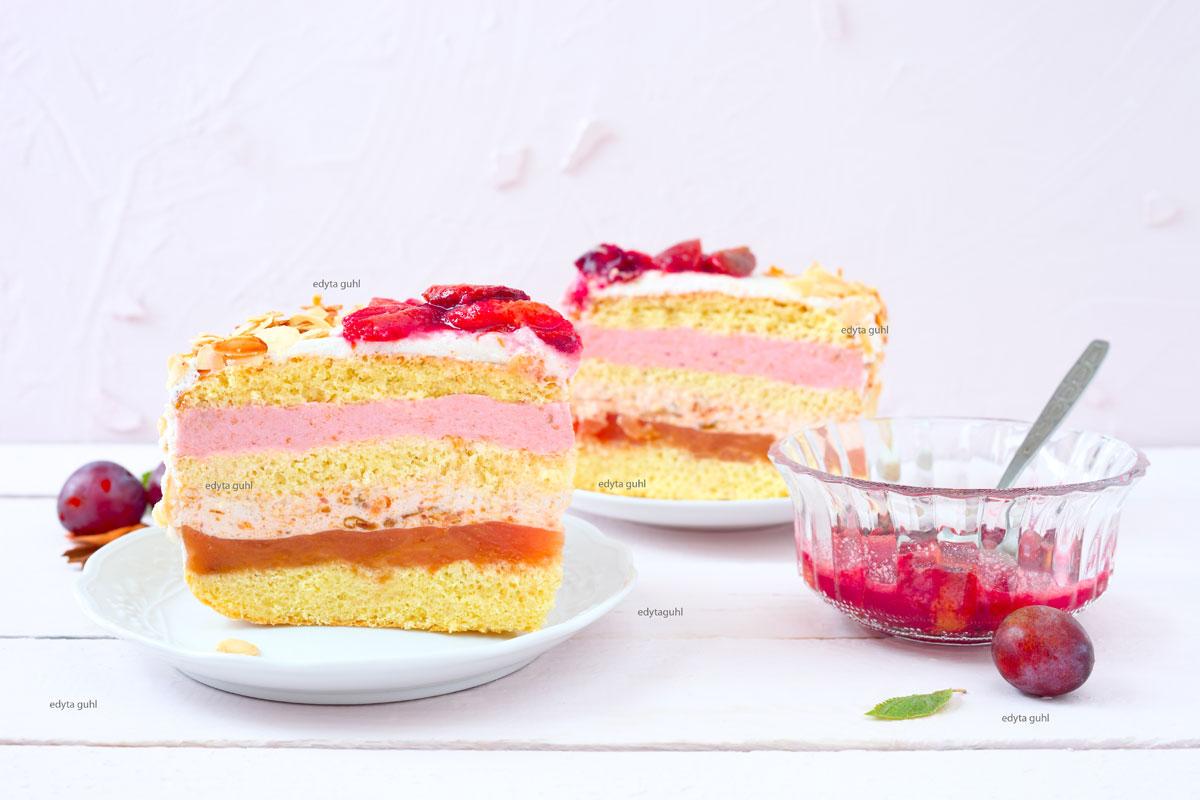 Zwetschgen-Torte