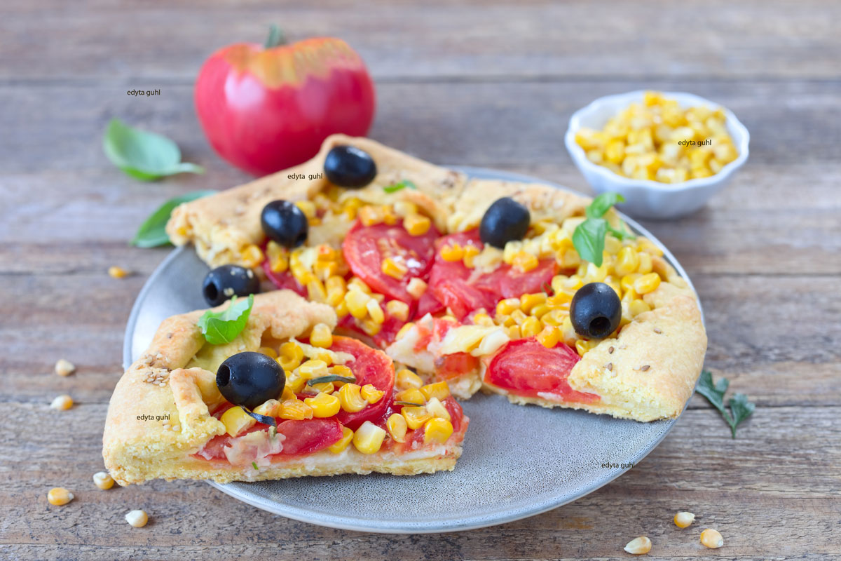 Galette-Rezept-Tomate-Mais