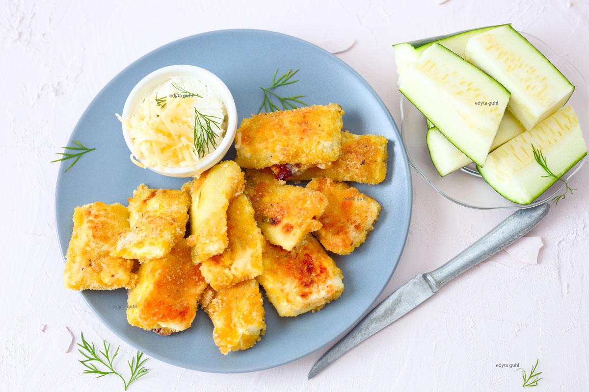 Backofen-Gemüse-Zucchini
