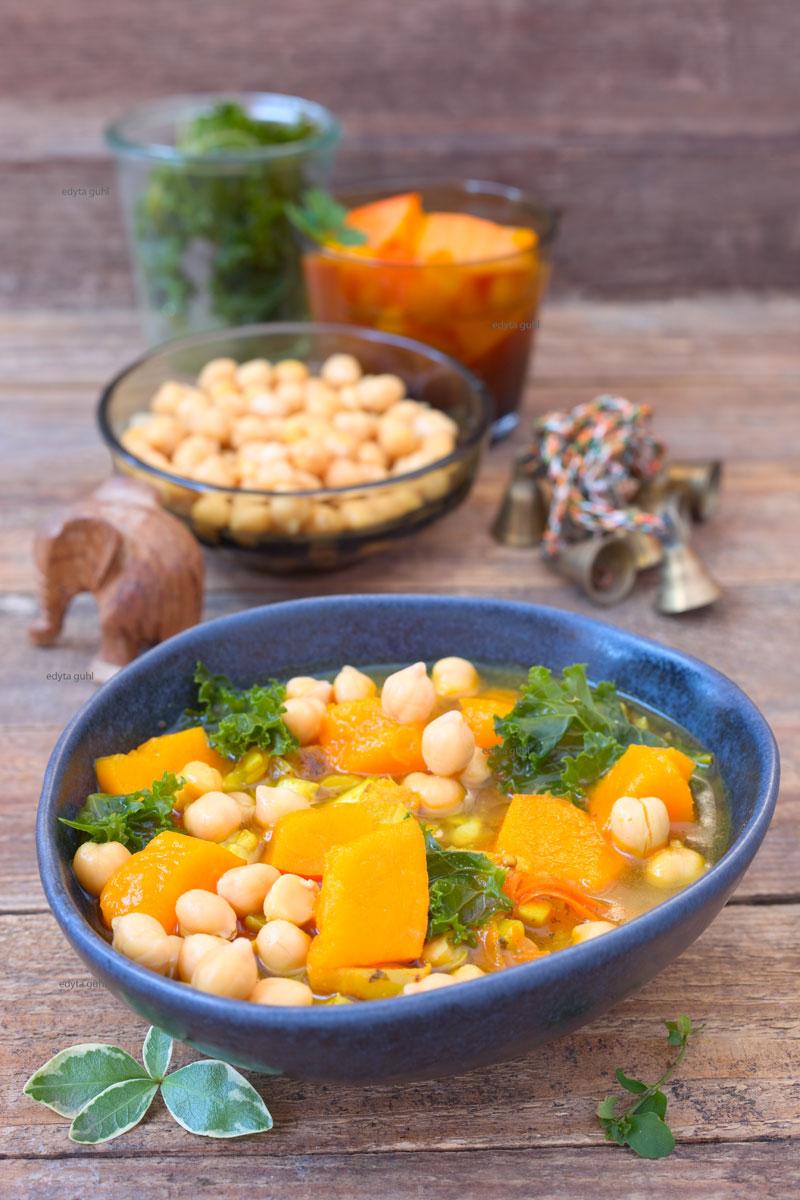 Gemüse-Eintopf-kochen