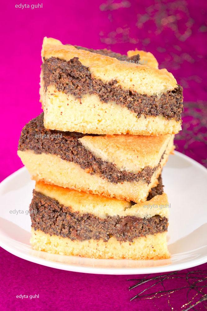 Mürbeteig-Mohnkuchen