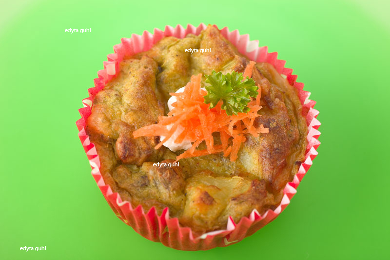 Gemüse-Muffin
