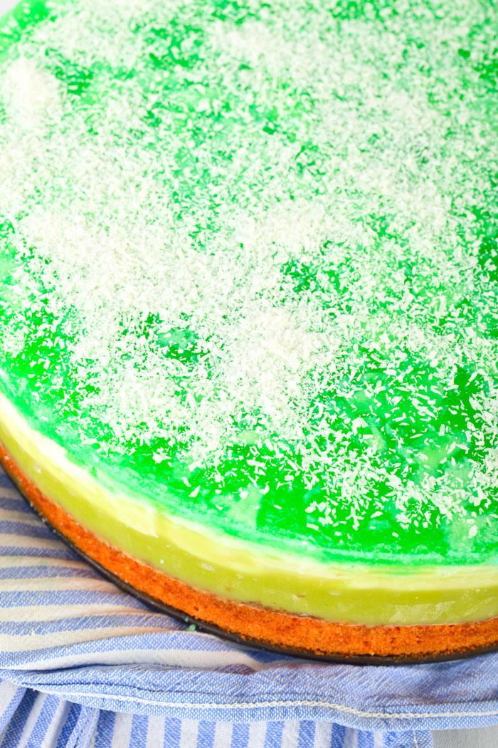 Grüne Shrek- Torte. Edyta Guhl.