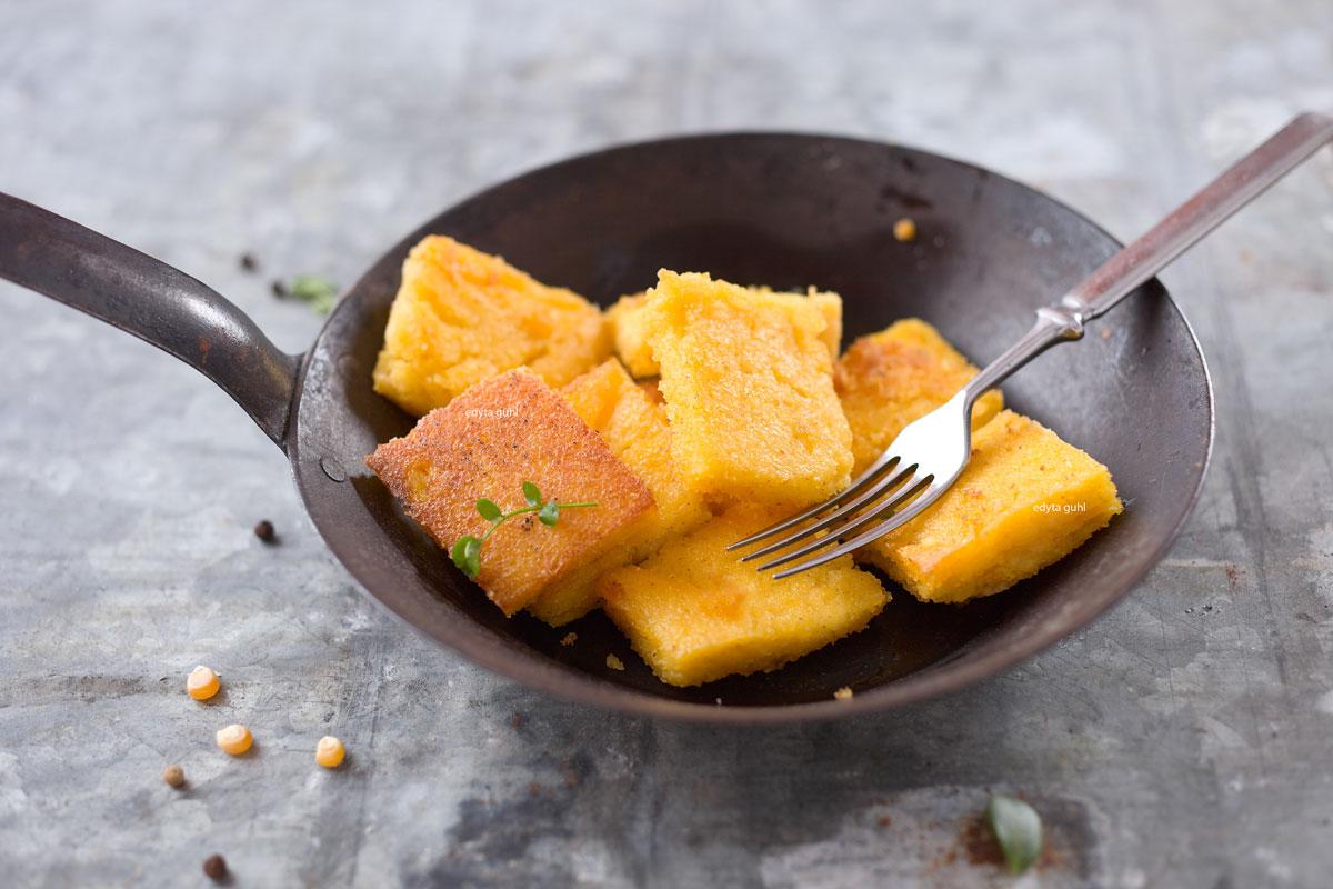 polenta-mit-champignion-sosse